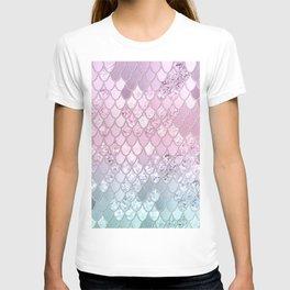 Mermaid Glitter Scales #2 #shiny #decor #art #society6 T-shirt