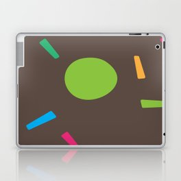 Abstract Artwork (Brown) Laptop & iPad Skin