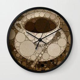 Hot Cuppa Wall Clock