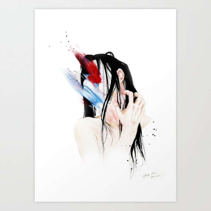Abstinence Art Print