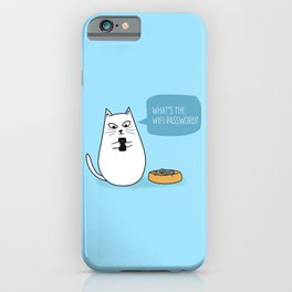 Wifi Cat iPhone Case