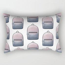 Heard You Like Backpacks Rectangular Pillow