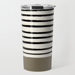 Cappuccino x Stripes Travel Mug