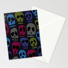 Skulls-3 Stationery Cards