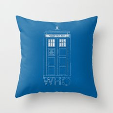 Doctor WHO Throw Pillow