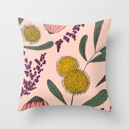 Floating Garden Throw Pillow