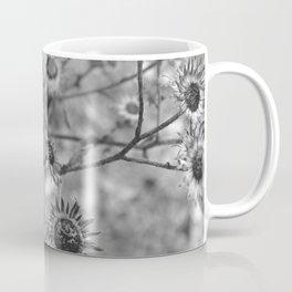 dried flowers in the field Coffee Mug