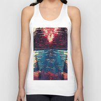 sweater Tank Tops featuring Ugly Sweater by Cylena Young