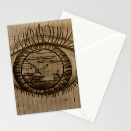 Real Eyes Realize Real Lies Stationery Cards