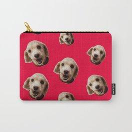 Happy Poodle Carry-All Pouch