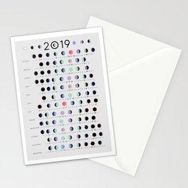 2019 lunar calendar Stationery Cards