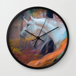 En el Bosque de los Susurros Wall Clock
