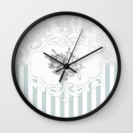 Cristine in Turquoise Wall Clock