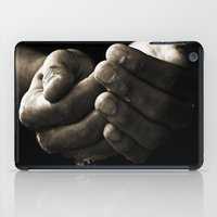 hands iPad Cases featuring hands by Ingrid Beddoes