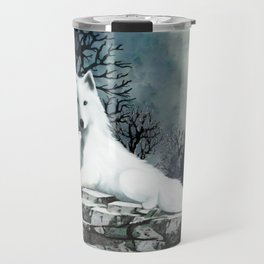 Wolf Mother and Pup Travel Mug