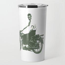 Dad on a Bike Travel Mug