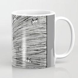 Separated grey Coffee Mug