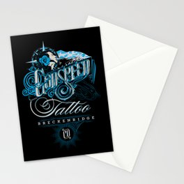 Godspeed Tattoo, Breckenridge, Colorado Stationery Cards
