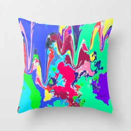 The Great Drip Throw Pillow