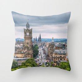 Edinburgh, Scotland. Throw Pillow