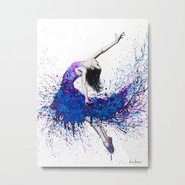 Evening Sky Dancer Metal Print