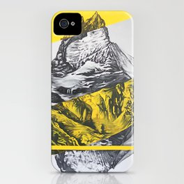 brocken mountain iPhone Case