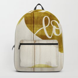 Gold love Backpack