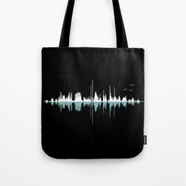Music City ( Black version ) Tote Bag