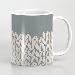 Half Knit Ombre Nat Coffee Mug