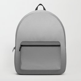 Gray to White Horizontal Bilinear Gradient Backpack