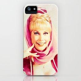 Barbara Eden, Vintage Actress iPhone Case