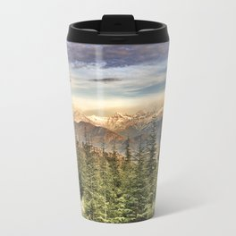 """Wildderness"". Adventure at the mountains... Travel Mug"
