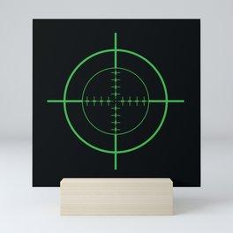 Gun Sight Crosshairs Mini Art Print