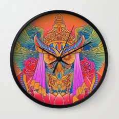 Goddess of the Night Wall Clock