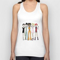 spice girls Tank Tops featuring The Spice Girls by flapper doodle