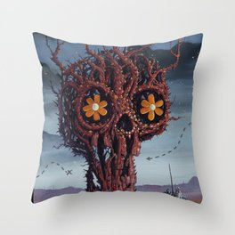Tree of Woe Throw Pillow