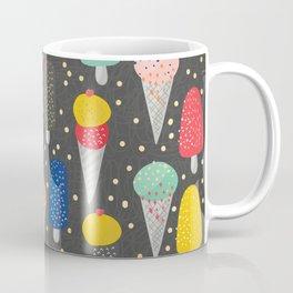 Colorful ice-cream summer food pattern Coffee Mug