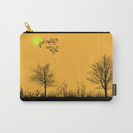 Orange panorama Carry-All Pouch