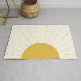 Sunrise / Sunset Minimalism Rug