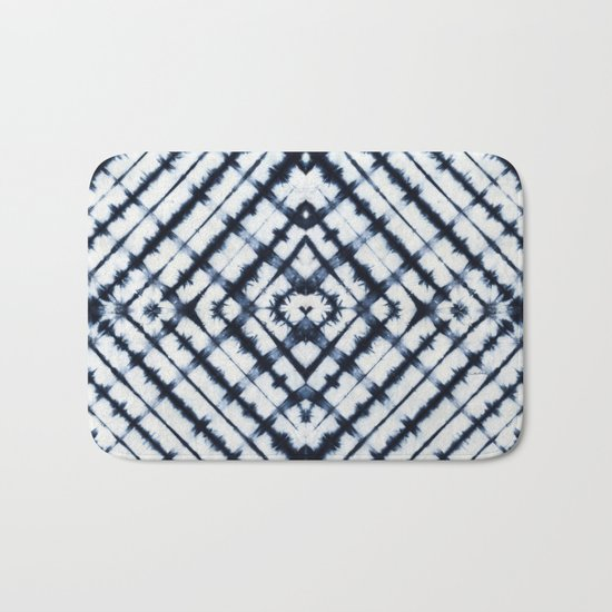Diamonds Indigo Bath Mat