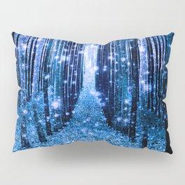 Magical Forest Bluest Blue Pillow Sham
