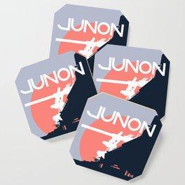 Final Fantasy VII - Visit Junon Propaganda Poster Coaster