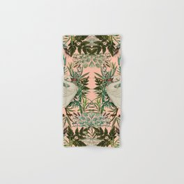 Romantic Swan Hand & Bath Towel