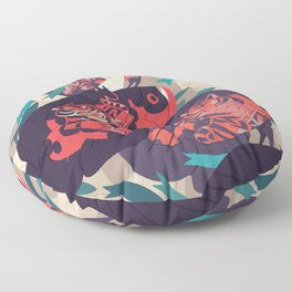 Hot Pursuit Floor Pillow