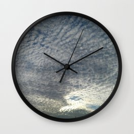 London Eye, Cloudy Sky Wall Clock