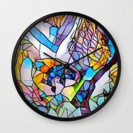 Pallette Wall Clock