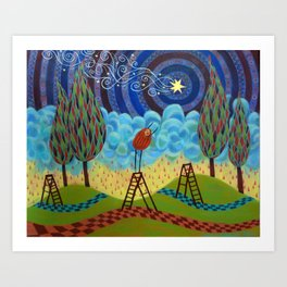 astral aspirations Art Print