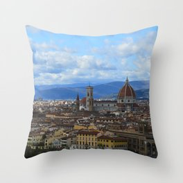 Florence Firenze Throw Pillow