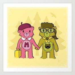 Sam & Suzy Art Print