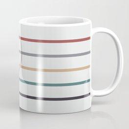 for Love || stripes & circle Coffee Mug